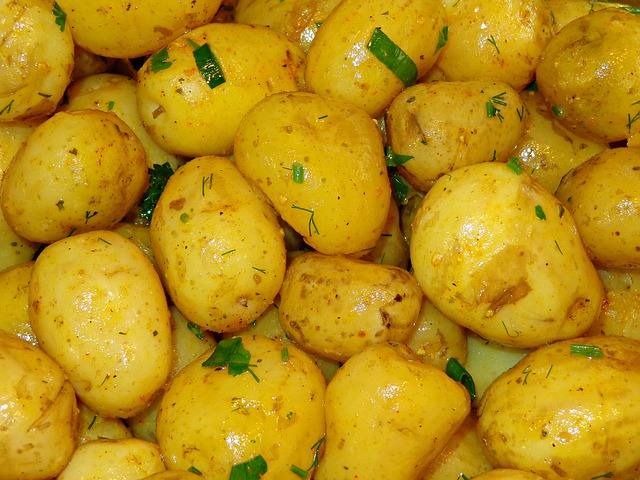 Lovely New Potatoes