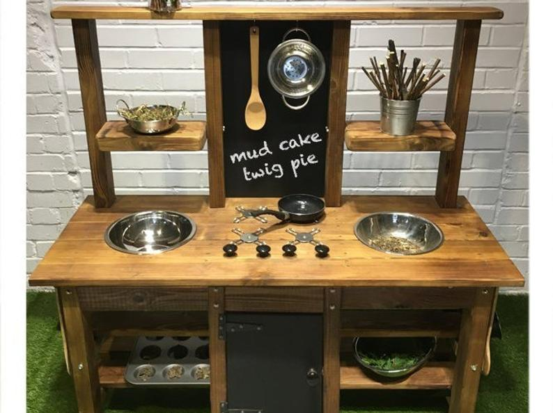 2 Bowl Mud Kitchen
