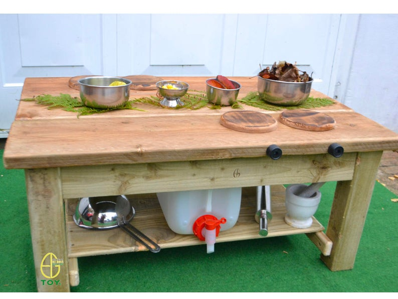 Farm House Mud Kitchen