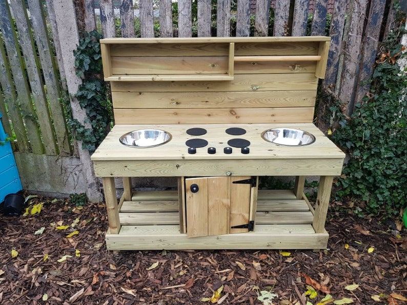 Treated Mud Kitchen