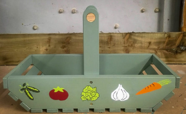 Children's vegetable trug
