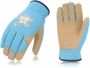 Blue Children's Gardening Gloves